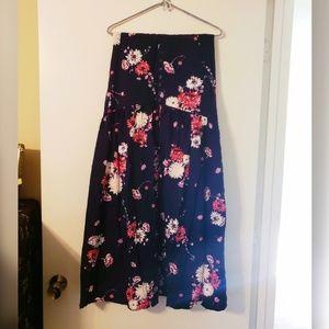 TORRID Floral Maxi Skirt Size 22